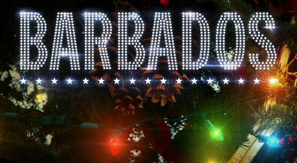 Barbados Önskar God Jul och ett Gott Nytt år