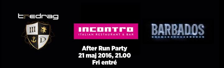 After Run Party 21 Maj